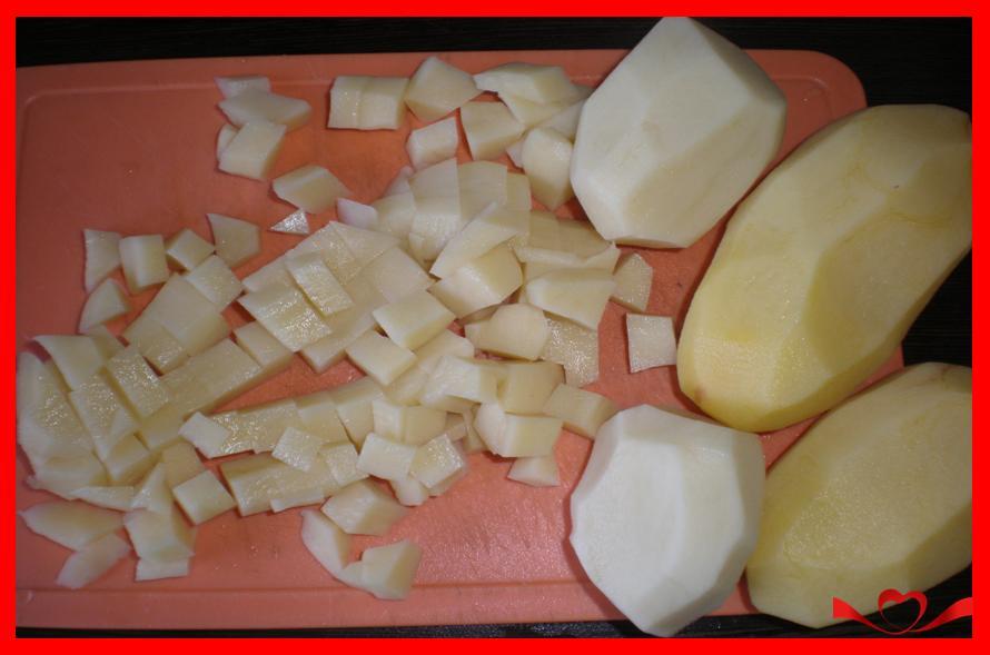 Картошка отварная с тушенкой рецепт пошагово