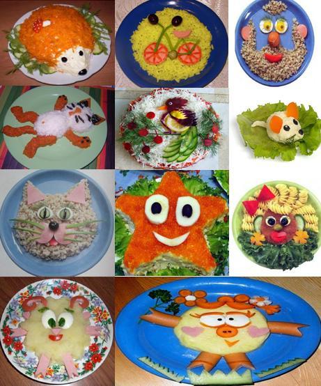 Простые рецепты блюд для детского дня рождения