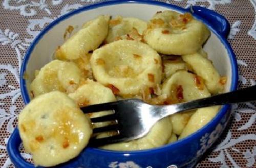 Ленивые вареники с картошкой пошагово с