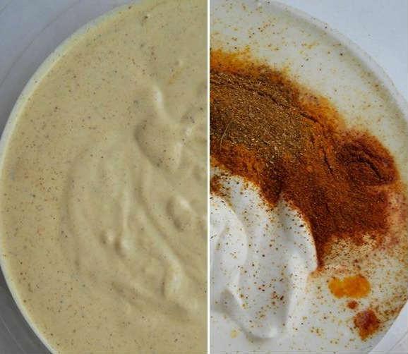 Соус для шаурмы красный рецепт с пошагово
