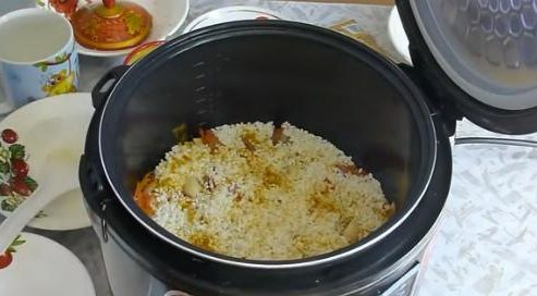 Плов из курицы в мультиварке поларис рецепты с фото