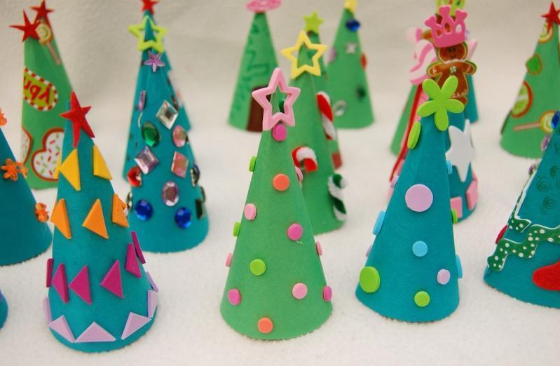 Поделки новогодние в детский сад пошагово 31
