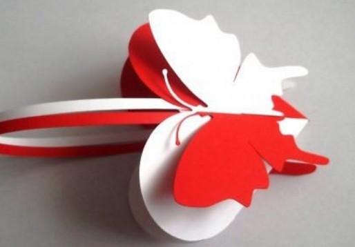 Поделки из бумаги сердечко с коробочкой 140