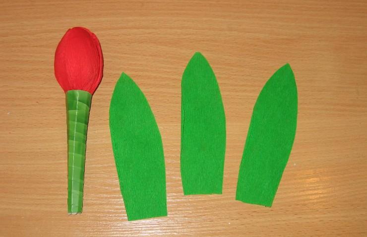 Как и из чего сделать тюльпаны своими руками 436
