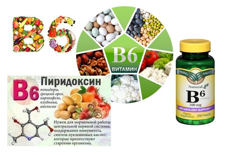 B6 витамин инструкция по применению
