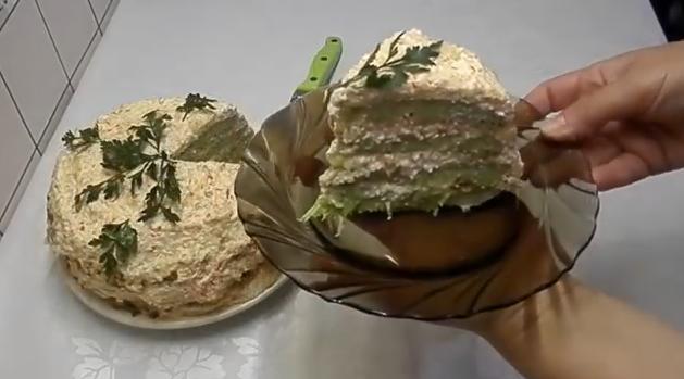 9kabachkoviy tort