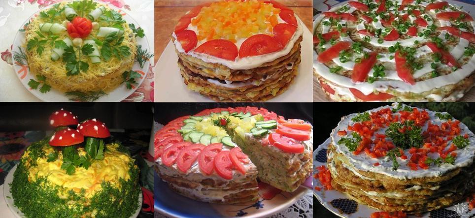 ukrasheniya tortov iz kabachka