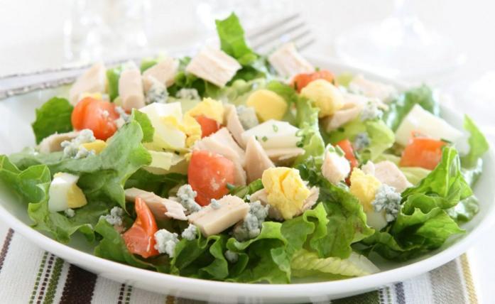 как приготовить салат из салата айсберг