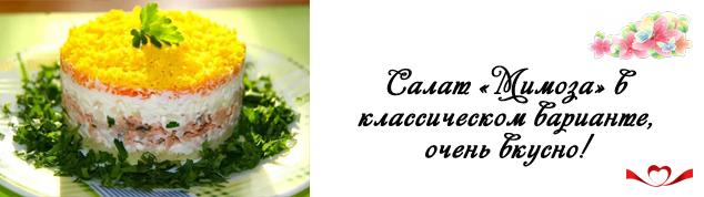 Салат «Мимоза»— 8 классических рецептов салата «Мимозы» с сайрой