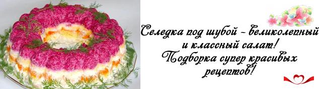 miniatura seledka pod shuboy