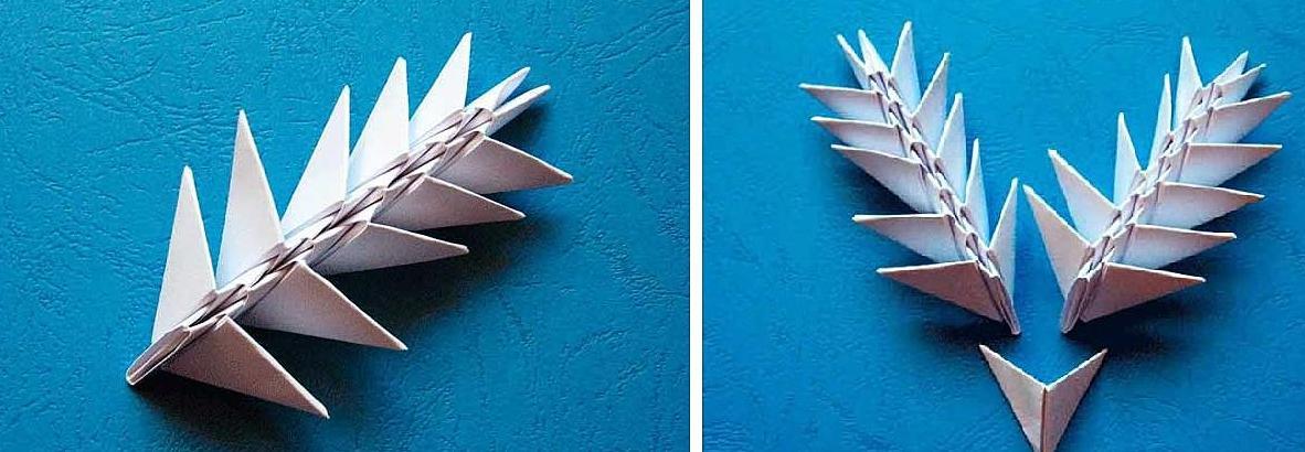 Как сделать модули оригами из бумаги схемы 682