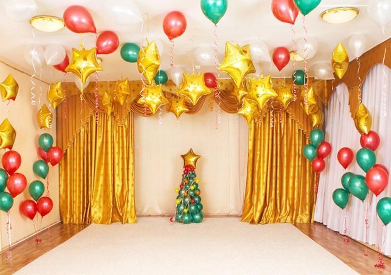 100 идей с фото как украсить комнату Новый год 2020 своими руками