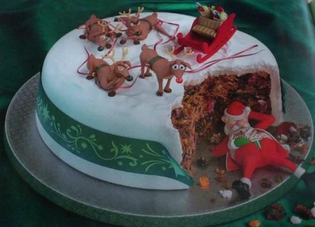 Как готовить новогодние торты дома