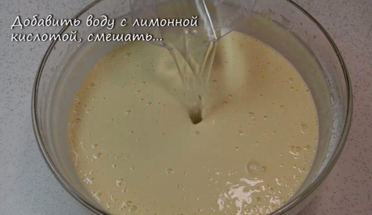 Интересный рецепт ажурных блинных лакомств на воде с фото