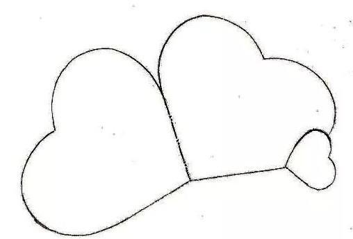 Открытка валентинка своими руками из бумаги шаблоны, поздравления светлой
