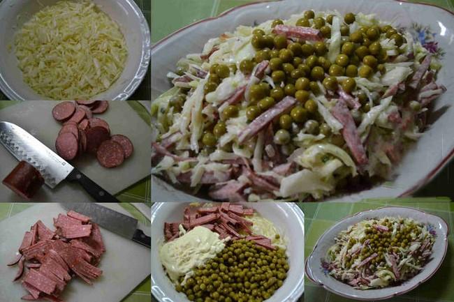 Салаты из свежей капусты - простые и очень вкусные рецепты