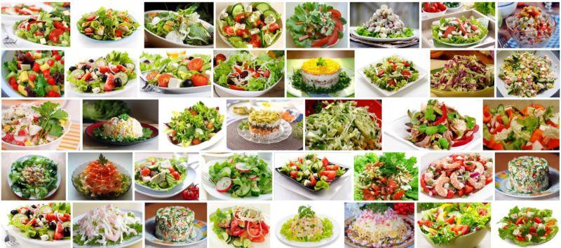салаты на закуску простые доступные