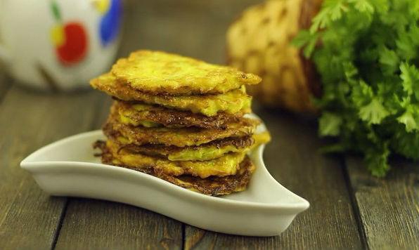 Блины из кабачков – 4 оригинальных рецепта с описанием и фото