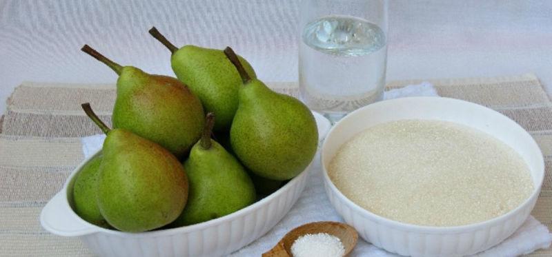 Варенье из груш дольками янтарное прозрачное: простой рецепт на зиму