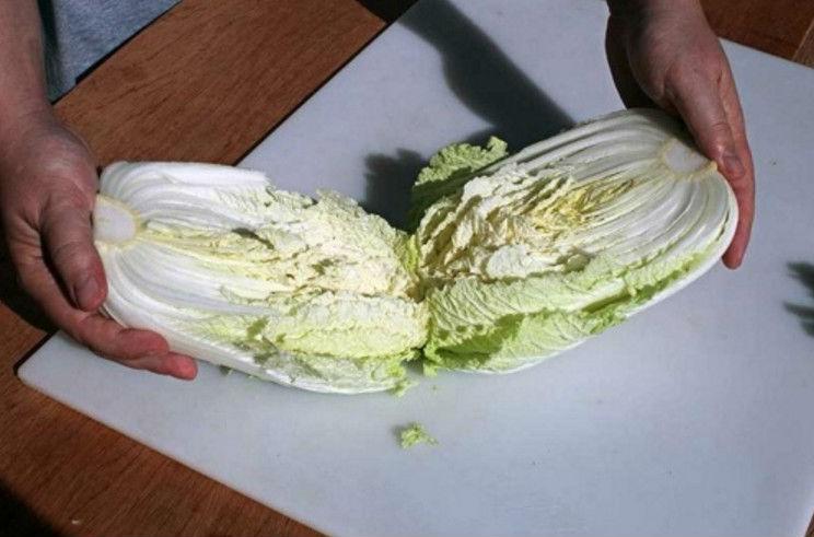 Засолка корейской капусты на зиму