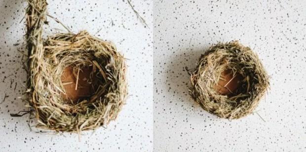 Сделать дуб из природного материала