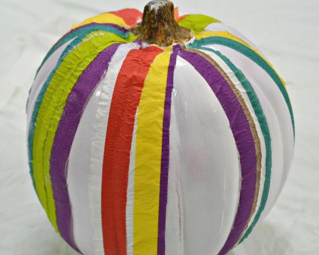 Будильник из тыквы поделка