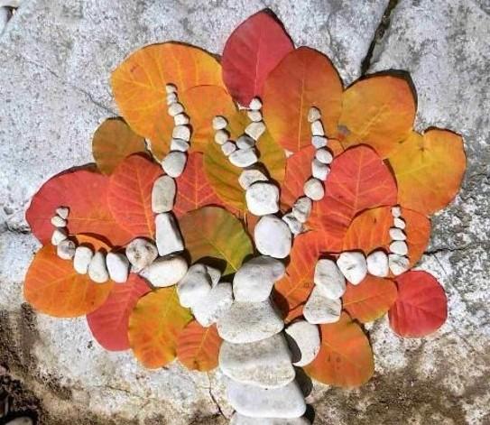 Композиции из природных материалов своими руками осень