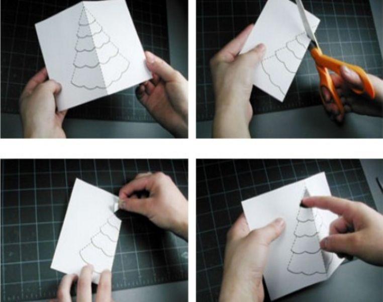 Как сделать объемные открытки своими руками поэтапно