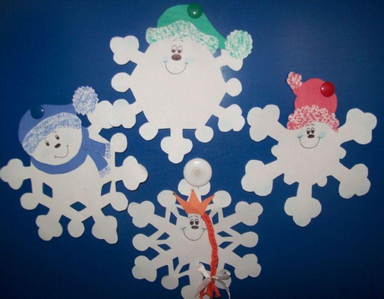 Снежинки  из бумаги: шаблоны и трафареты для вырезания