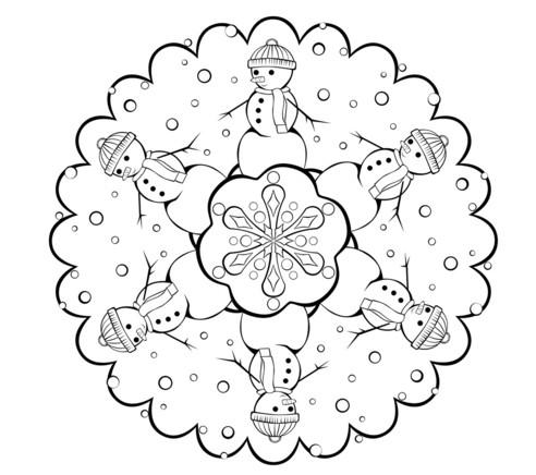 Раскраски на Новый год для детей: можно скачать и ...