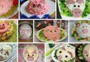 Салаты в виде свиньи на Новый 2019 год — коллекция новогодних рецептов