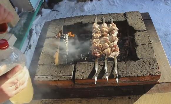Шашлык из курицы в духовке на шпажках: 7 рецептов приготовления