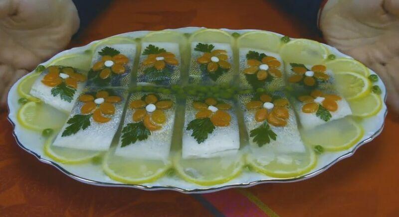 Заливное из судака с желатином. 7 подробных рецептов