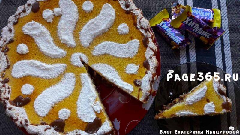 Бисквитный торт — очень вкусный и простой рецепт