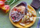 Горбуша с сыром и помидорами в духовке