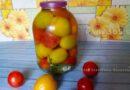 Бочковые помидоры в банке на зиму в домашних условиях (холодный способ)