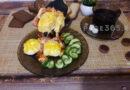 Завтрак из яиц и сыра