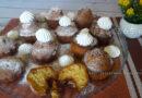 Кексы в силиконовых формочках в духовке