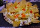 Салат Хризантема — 5 классических рецептов
